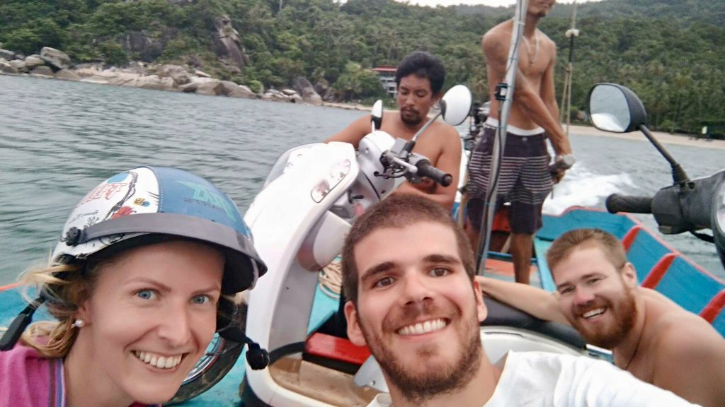 Szalona przygoda z przyjaciółmi w Tajlandii
